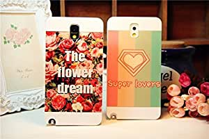 Galaxy S5 Case,Supper Lovers Heart Shape Protective Back Case Cover for Samsung Galaxy S5 I9600, 1 piece