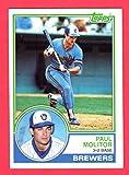 Paul Molitor 1983 Topps Card (Hall Of Famer)