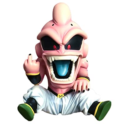 Apehuyuan Anime PVC Figure Dragon Ball DBZ Majin Buu Statue Action Collectible Figure Toy Home Room Decor: Arts, Crafts & Sewing
