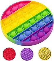 LifestyleGoodsCo. Pop It Fidget Toy Calidad Premium Original, 2021, Juguete Antiestrés Sensorial y Educacional
