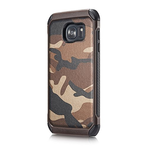 Classic Army Reinforced (Galaxy J5 J500 Samsung Premium Dual Layer Camouflafe Case By GTRADE Shockproof Rubber & Plastic Reinforced Phone Cover Military Camo Pattern Green, Brown & Navy Color Available -)