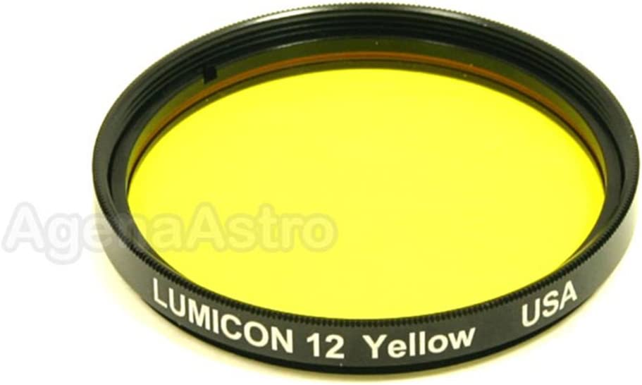 Lumicon Color//Planetary Filter #12 Yellow 2 # LF2020