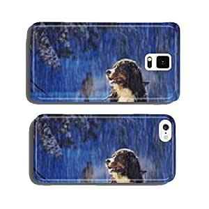 Xmas dog cell phone cover case Samsung S5