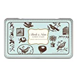 Cavallini Rubber Stamps Birds and Nests, Assorted with Ink Pad