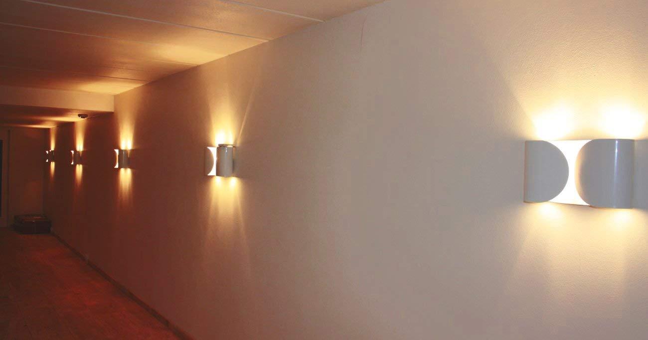 Flos lampada da parete foglio bianco: amazon.it: casa e cucina