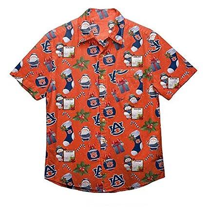 5e6f4aec4f8 Amazon.com   NCAA Mens Floral Button Up Shirt   Sports   Outdoors