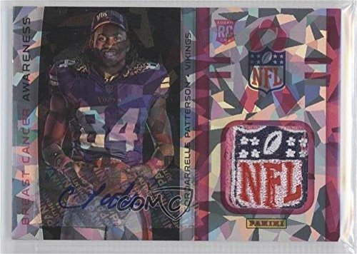 Autographs Patterson (Cordarrelle Patterson #1/1 (Trading Card) 2013 Panini Black Friday - Breast Cancer Awareness Relics - Cracked Ice NFL Shield Autographs [Autographed] #BCA1)