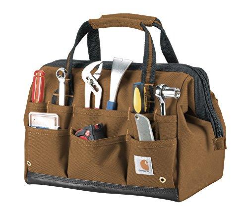 Carhartt Legacy Tool Bag 14-Inch, Carhartt Brown