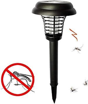 Sgsg Repelente Mosquitos Exterior,lampara Mosquitos Solar,Iluminación de Patio y terraza,inalámbrico césped del jardín de luz LED: Amazon.es: Deportes y aire libre