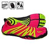 zemgear split toe running shoes - Terra XT Ninja Hot Pink/Lime (9, Hot Pink/Lime)