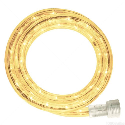 Incandescent - 18 ft. - Rope Light - Warm White Clear - 120 Volt - 150 ft. Max Run - Includes Easy Installation Kit - 042-CL-18