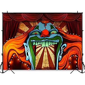 PERSONALISED CIRCUS THEME LARGE PAPER WALL OR DOOR BANNER L@@K