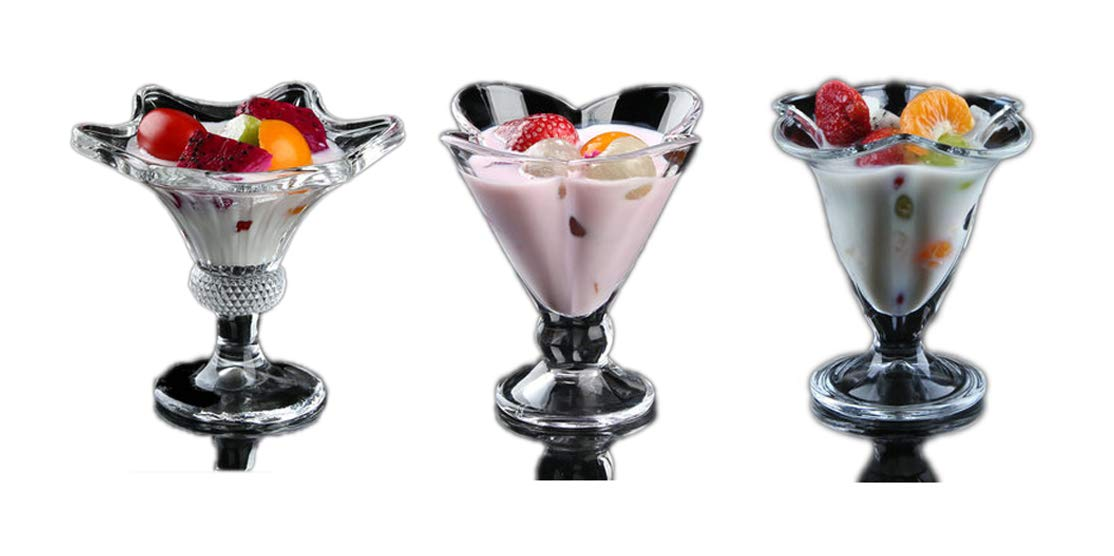 Transparent Cold Drink Cup Lead-Free Glass Dessert Juice Milk Ice Cream Dessert Pudding Milkshake Mug Cup Portable Outdoor Coke Bottle Drink Cocktail Beer Mug