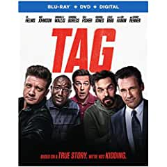 TAG arrives on Digital August 17 and on Blu-ray and DVD August 28 from Warner Bros.