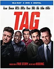 Tag (Blu-ray) (BD)One month every year, five highly competitive friends hit the ground running in a no-holds-barred game of tag they've been playing since the first grade—risking their necks, their jobs and their relationships to take each ot...