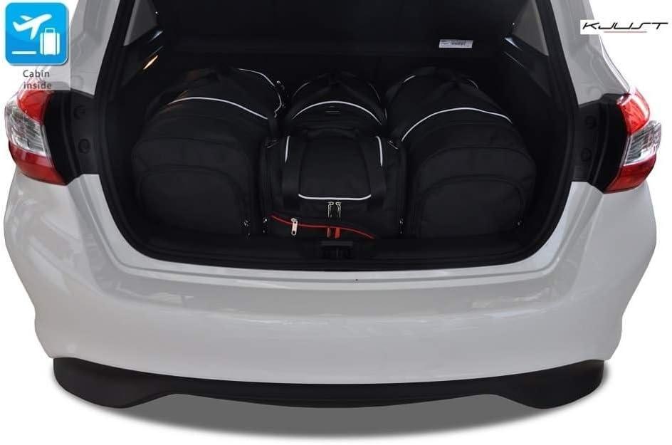 KJUST Kit de Bolsas 4 pcs Compatibles con Nissan Pulsar 2014-2018 Maletero