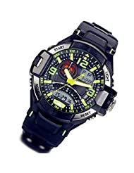 Lancardo Multi Function Dual Time Shows Military Sports Digital Watch with Gift Bag