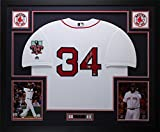 David Ortiz Autographed & Framed White Red Sox Jersey Auto MLB COA D3-L (FREE SHIPPING!!)