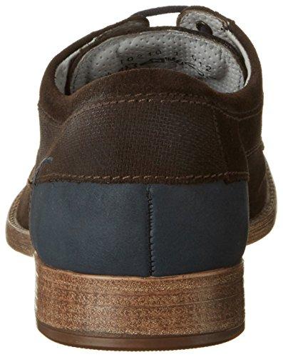 FRETZ men Ascona, Zapatos de Cordones Derby para Hombre Braun (Mokka)