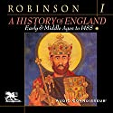 A History of England, Volume 1: Early and Middle Ages to 1485 Audiobook by Cyril Robinson Narrated by Charlton Griffin