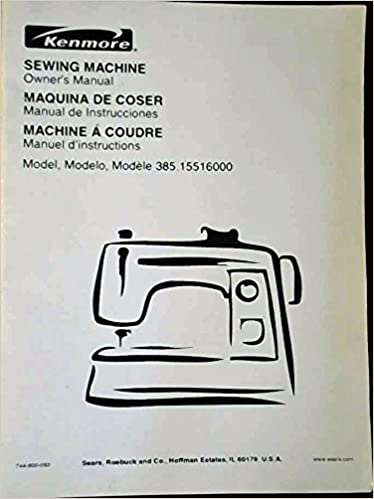 Sewingmachine Owner's Manual Model 4040 Unknown Amazon Extraordinary Kenmore Sewing Machine Model 385 Owners Manual