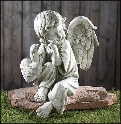 Catholic & Religious Memorial Angel Garden Figurine
