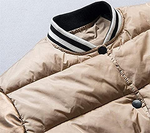 OnIn Mens Premium Slim Fit Lightweight Quilted Jacket Down Coat 1US-M - Crystal Quilted Jacket