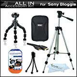 All In Accessories Bundle Kit For Sony Bloggie MHS-FS1 Video Camera Includes Deluxe Hard Case + 50