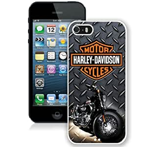 Beautiful And Unique Designed Case For iPhone 5 With Harley Davidson (3) Phone Case