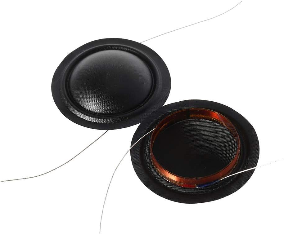 ,25.5mm Treble Speakers Repair Accessories SimpleLif Tweeter Coil Silk Membrane Pack of 2