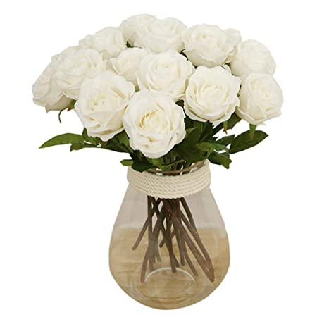 Toechmo high quality artificial flowers real touch flowers silk toechmo high quality artificial flowers real touch flowers silk artificial rose flowers home decorations for mightylinksfo