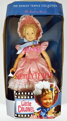 Danbury Mint The Shirley Temple Collection Little Colonel Doll