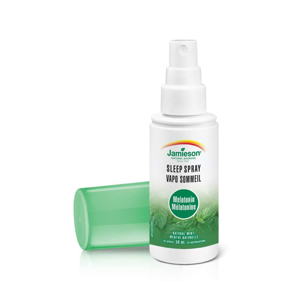 Amazon.com: Jamieson Melatonin Sleep Spray- Natural Mint Flavour, 58ml: Health & Personal Care