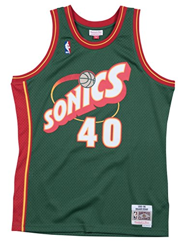 Mitchell & Ness Shawn Kemp Seattle Supersonics NBA Throwback Jersey - Green