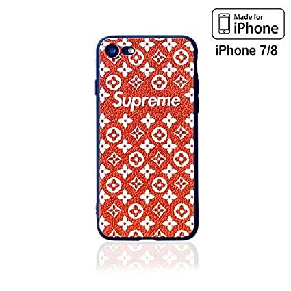 6fec2699e5c1 Amazon.com  MILYOLARY iPhone case, Fashion Box Logo Cool Fresh Grip ...