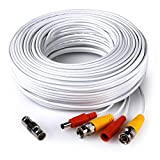 RCA Home Security 100 Foot Video & Power BNC Cable