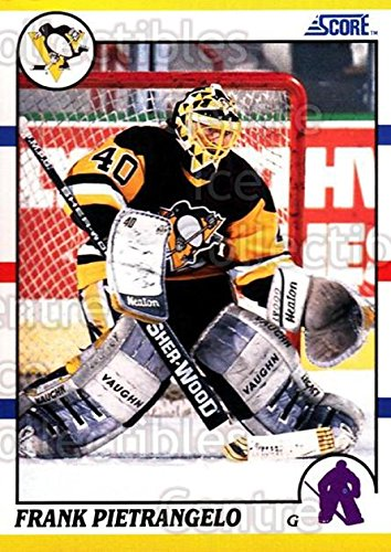 (CI) Frank Pietrangelo Hockey Card 1990-91 Score Rookie Traded 55 Frank Pietrangelo ()