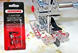 CLEAR VIEW QUILTING FOOT WITH GUIDE FOOT SET FOR JANOME#200449001