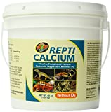 Zoo Med Reptile Calcium Without Vitamin D3, 48 oz