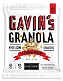 The Safe + Fair Food Company Gavin's Granola, Cinnamon, 36 Count