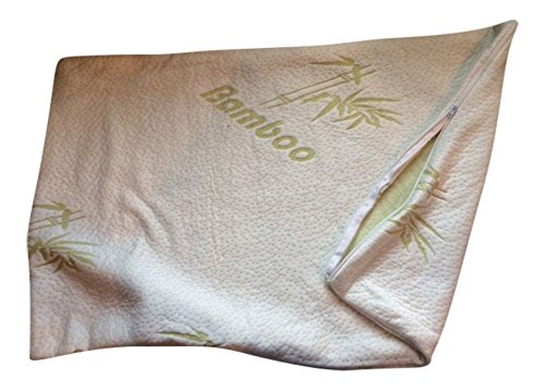 Cool Comfort Ultra Plush Memory Foam Bamboo Pillow Zipper