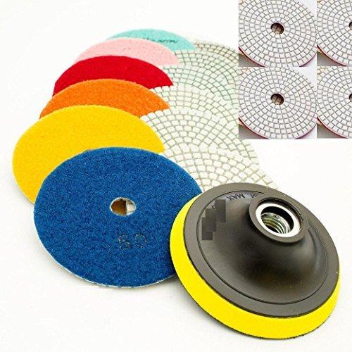 7 inch concrete polishing pads - 4