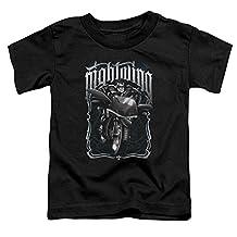 Batman DC Comics Superhero Nightwing On Motorcycle Little Boys Tod T-Shirt