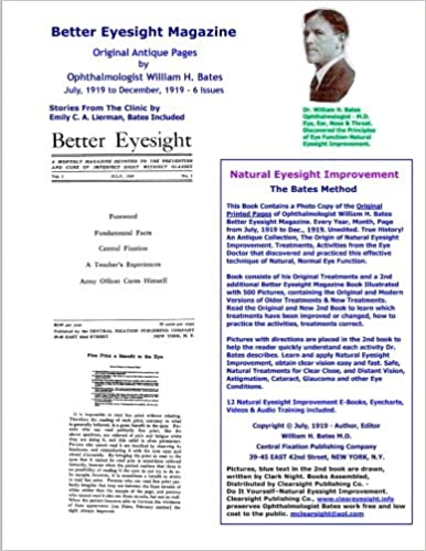 ff8de6b86c9fa Better Eyesight Magazine - Original Antique Pages by Ophthalmologist ...