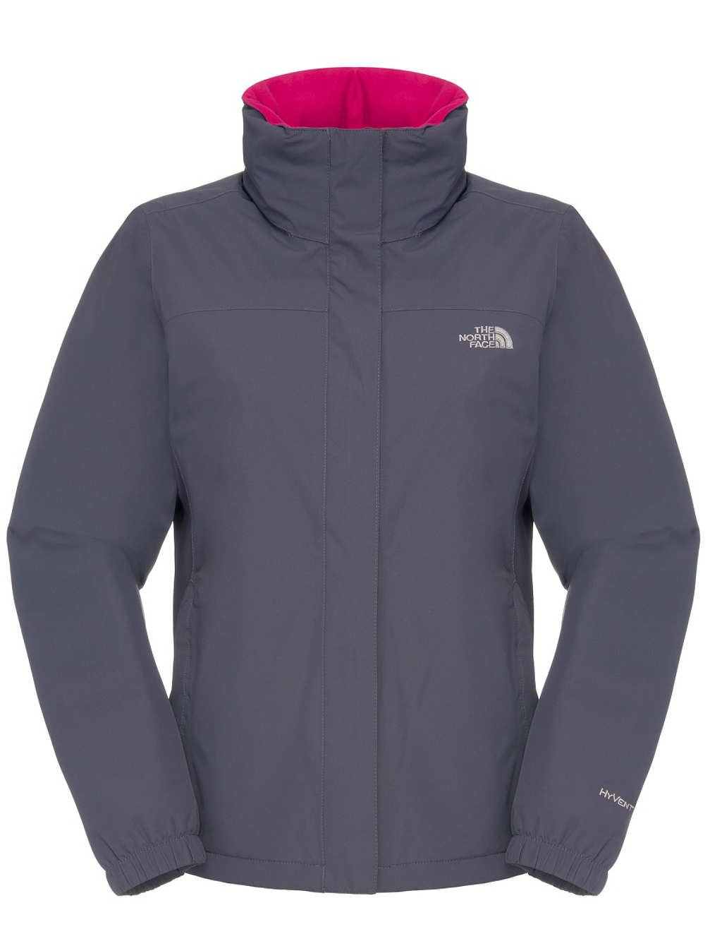 8f8ab9213 THE NORTH FACE Women's Resolve Insulated Jacket sky blue D3R Greystone Blue  Size:x-Large