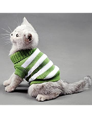 6998f1e78 Kitten Clothes Sweater for Cat