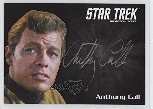 anthony-call-dave-bailey-trading-card-2016-rittenhouse-star-trek-50-silver-ink-autographs-anca