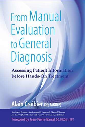 From Manual Evaluation to General Diagnosis: Assessing Patient Information before Hands-On Treatment - medicalbooks.filipinodoctors.org