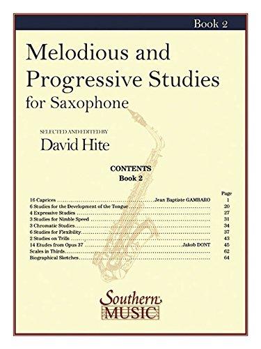 Melodious and Progressive Studies, Book 2: Saxophone