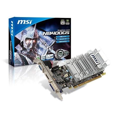MSI NVIDIA GeForce 8400 GS 1 GB DDR3 VGA/DVI/HDMI tarjeta de ...
